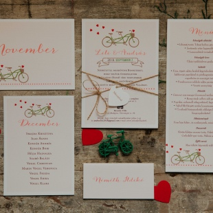 2020: Papírkellékek az esküvőn