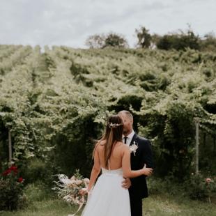 Lídia és Olivér esküvője a Rókusfalvy birtokon