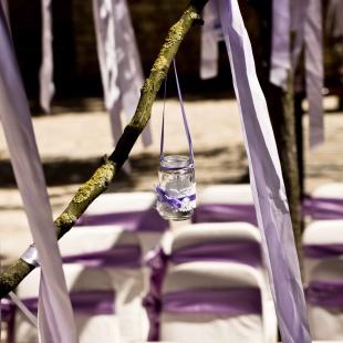 Levendulás esküvő a Barabás villában