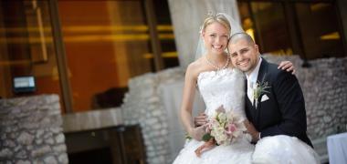 Eszter és Rob esküvője a Hilton hotelben